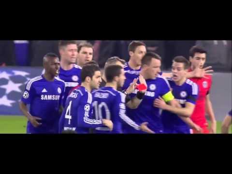 ZLATAN IBRAHIMOVIC RED CARD - Chelsea vs PSG | Champions League 2015