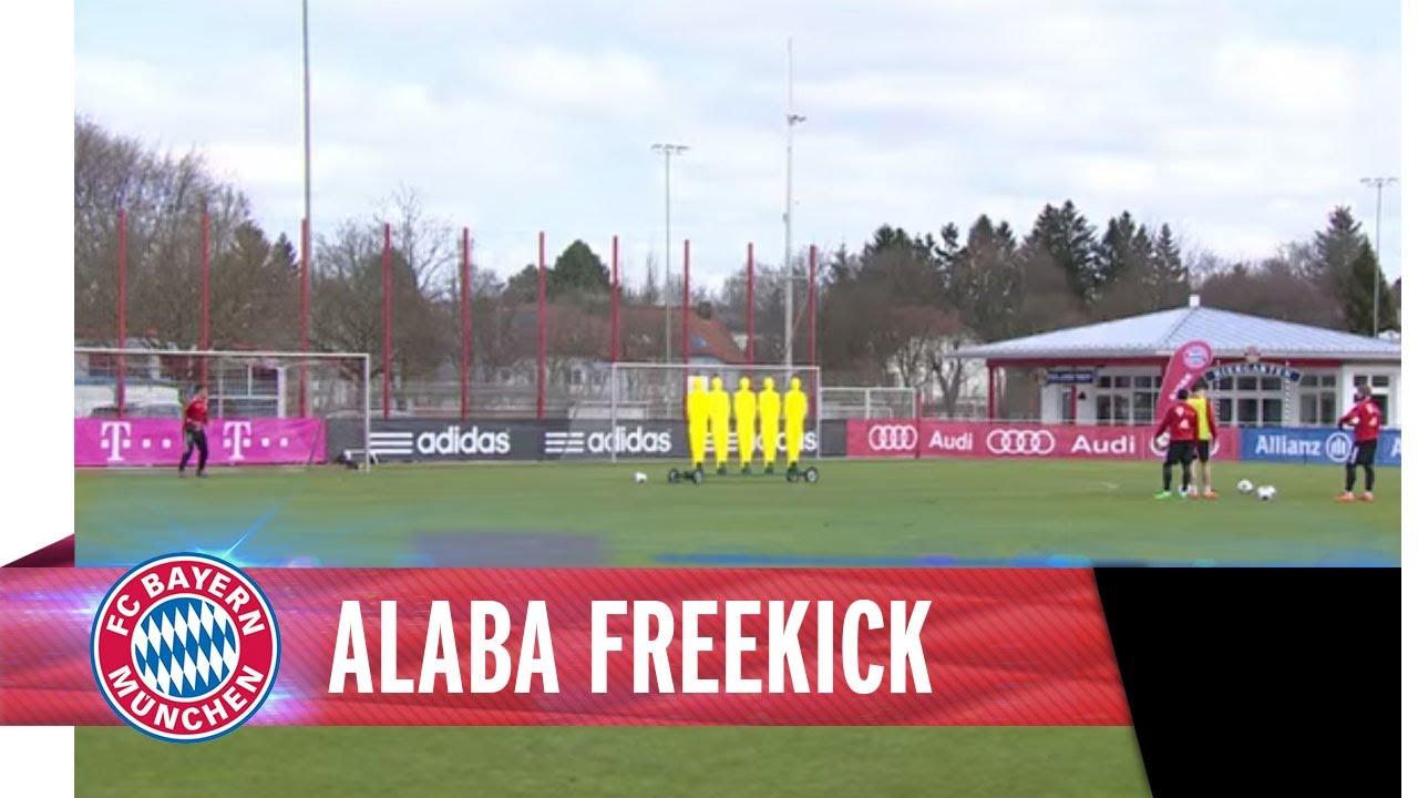 Alabas Freistoß-Fleißarbeit