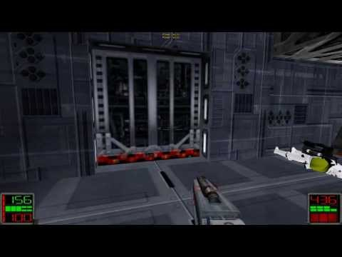 Star Wars Jedi Knight: Dark Forces II - (Level 12) Escape with the Map