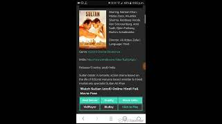 how to download sultan in hindi