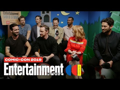 'It Chapter Two' Stars Bill Hader, James McAvoy & Cast LIVE | SDCC 2019 | Entertainment Weekly