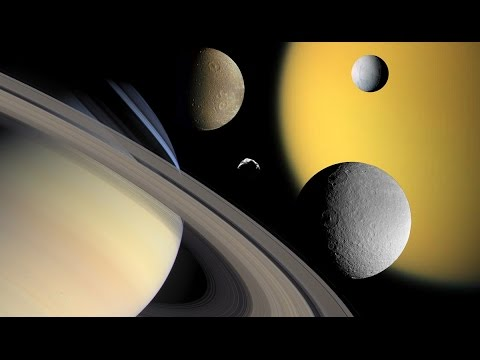 What It Would Be Like to Live on Saturn's Moons Titan and Enceladus | Full  Universe documentary HD