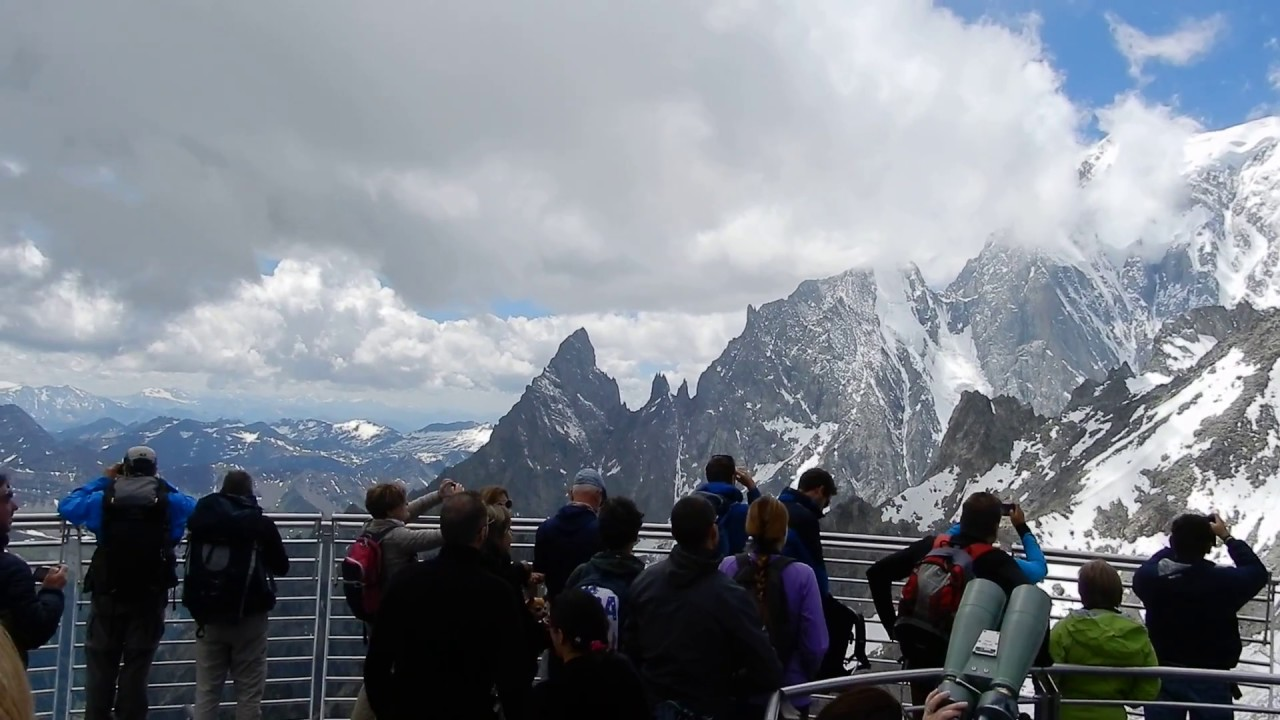Skyway Monte Bianco Punta Helbronner Terrazza Panoramica A