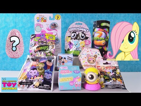 Thumbnail: Disney Slitherio Hatchimals Num Noms Ninjago Lego Toy Review | PSToyReviews