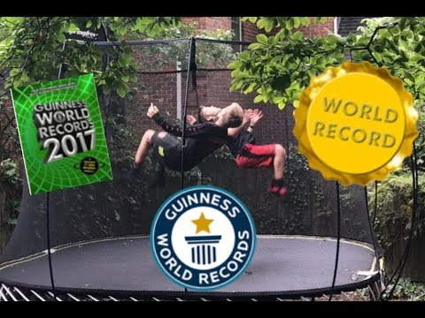 Breaking trampoline world records part 2