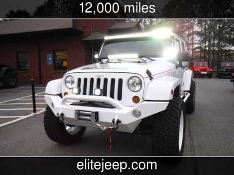 2013 Jeep Wrangler Unlimited Sahara Used Cars Elite Jeeps In