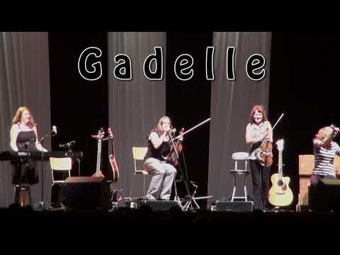 "Gadelle.  ""Live at the Mission Folk Music Festival, 2010"""