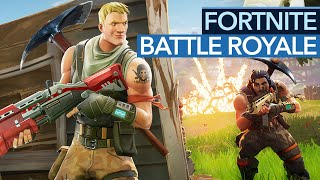 Fortnite and Battle Royale? Doesn't fit, but it doesn't matter