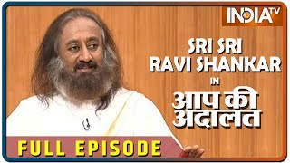 Sri Sri Ravi Shankar in Aap Ki Adalat (Full Episode)