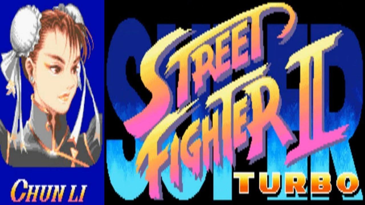 Super Street Fighter Ii Turbo Chun Li Arcade