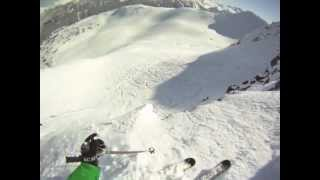 Dream Lines - Part 2: Whistler, March 2012. GoPro HD Cliff Skiing.