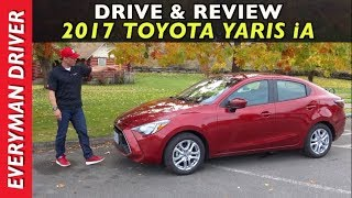 Watch This: 2017 Toyota Yaris IA Review On Everyman Driver