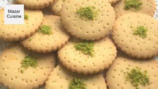 Tasty Biscuits Recipe بسکوت ،  بسکویت، لذیذ خانگی Biscuit Recipe By Mazar Cuisine