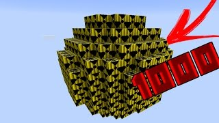 EXPLODINDO 1000 TNT'S NUCLEARES NO MINECRAFT