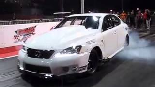 EKanooRacing Drag Lexus ISF , Testing Day 1 @ BIC First Official Appearance