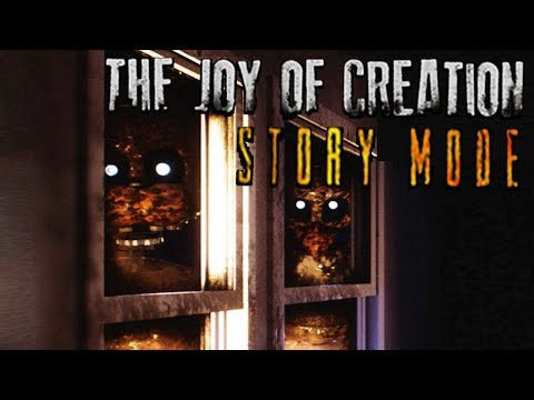 TJOC STORY MODE FULL GAMEPLAY / FREDDY IS IN THE BEDROOM / EPISODE #1 (The Joy Of Creation)