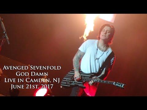 Avenged Sevenfold - God Damn (Live in Camden, NJ 6/21/17)