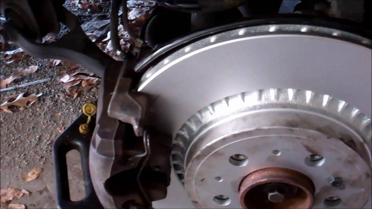 2004 Volvo XC90 Rear Brake Repair - Part 5 of 5 - YouTube