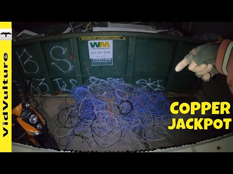 Oodles And Oodles Of DUMPSTER Noodles - Jackpot COPPER Wire Score