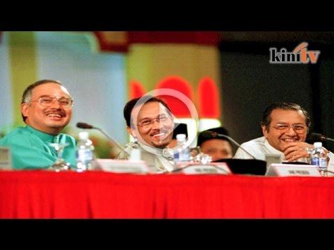 'Kesilapan Mahathir pilih Anwar, Najib berdasarkan karisma'