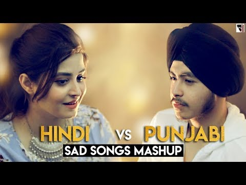Hindi vs Punjabi Mashup (Sad Version) | Acoustic Singh ft. Deepshikha(Devotees Insanos Records)