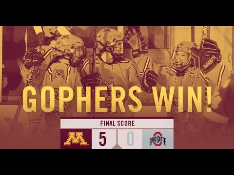 No. 2 Golden Gophers Advance to WCHA Final Face-off