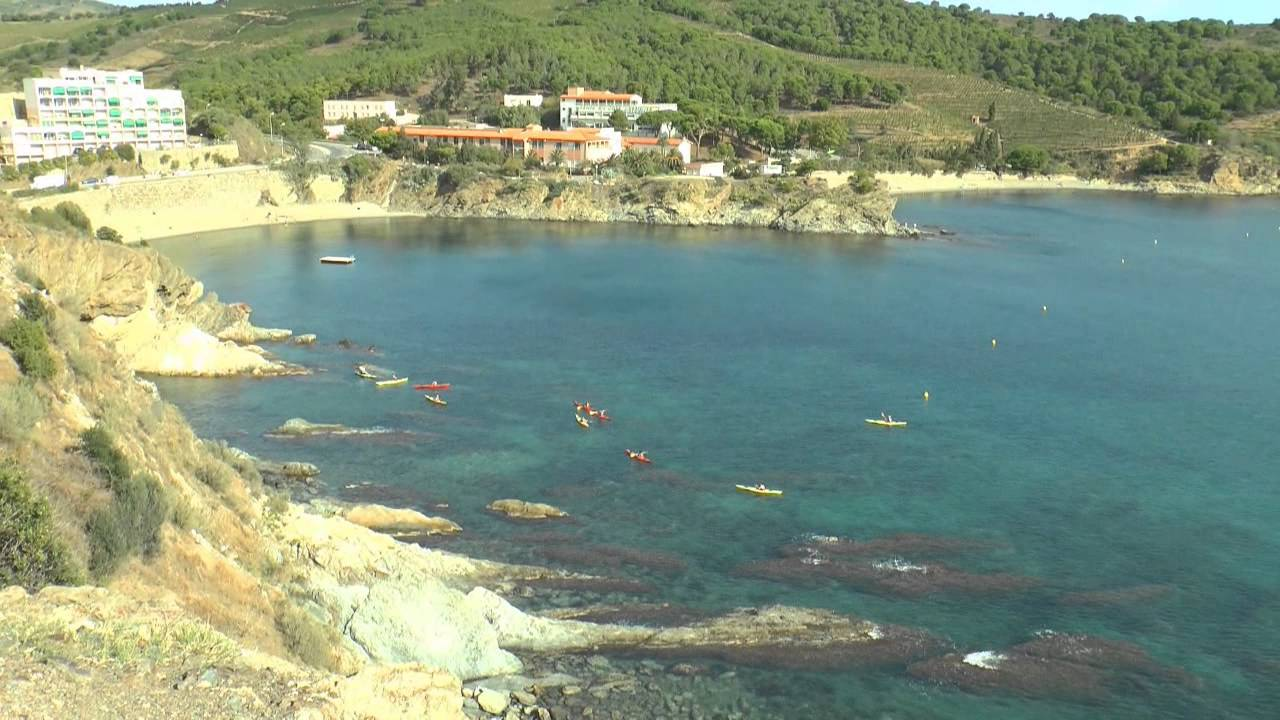 Kayak en mer  Banyuls sur mer
