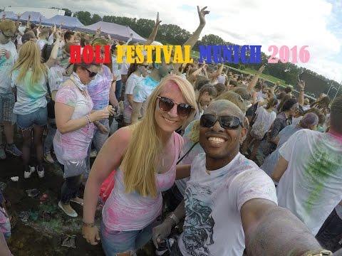 Holi Festival of Colours -  Munich 2016