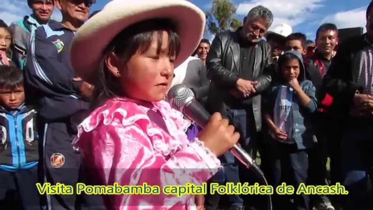 Niña Canta En Quechua De Pomabamba Ancash Youtube