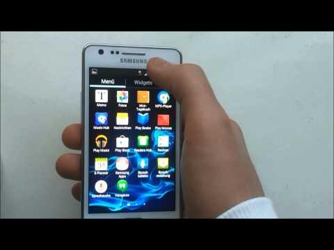 S2 Screenshot machen aufnahme mit dem Samsung Galaxy S2 German Deutsch