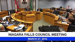 March 27, 2018 City Council Meeting