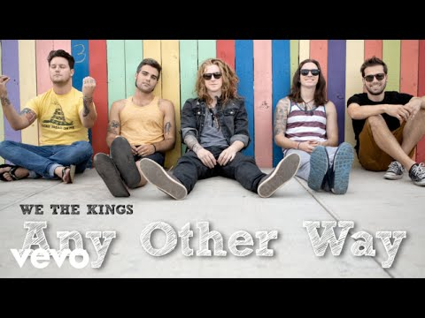 We The Kings - Any Other Way (Audio)