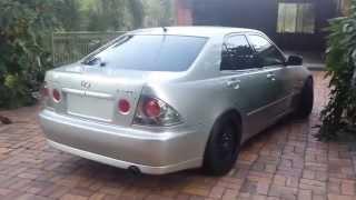 400hp Lexus IS200 LS1 5.7L Cammed V8 Conversion