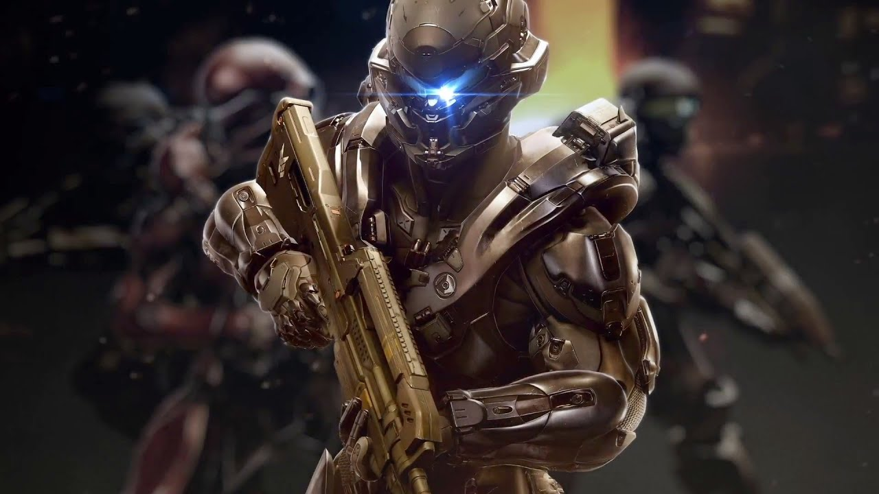 Halo 5 guardians animated poster youtube voltagebd
