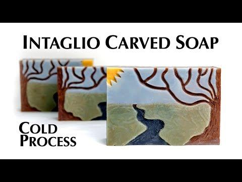 Camo Soap Making - YouTube