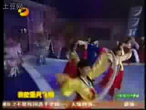 Yu Haoming 俞灏明 dance on 天天向上