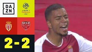 Benjamin Henrichs erzielt Premieren-Tor bei Monaco-Remis: Monaco - Dijon 2:2  | Ligue 1 | DAZN