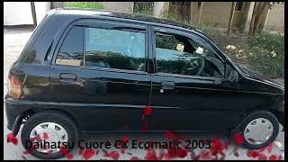 Daihatsu Cuore CX Ecomatic 2003 | Automatic transmission