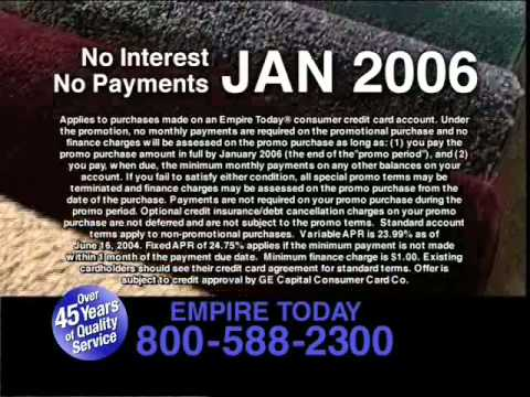 Empire Today - Just One Call Will Bring Great Carpet - YouTube