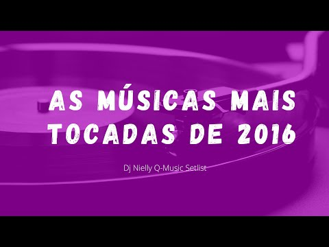 AS MÚSICAS DO POP INTERNACIONAL MAIS TOCADAS 2016