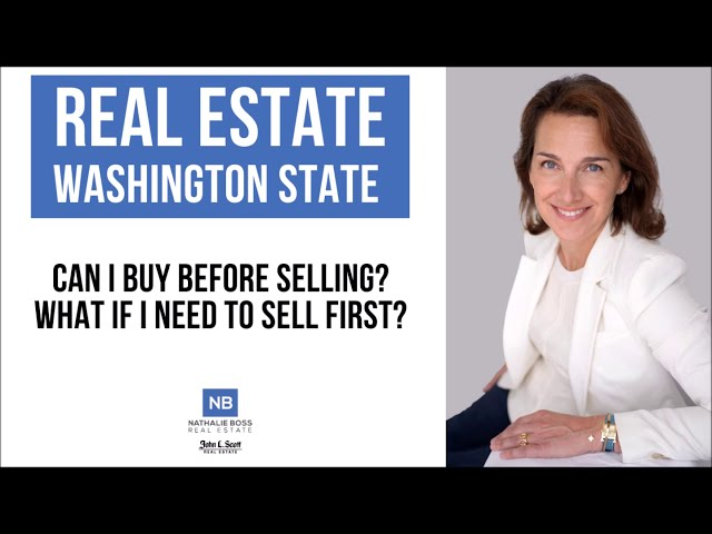 Seattle and Eastside homeowners:: Do you need to sell your home before buying?