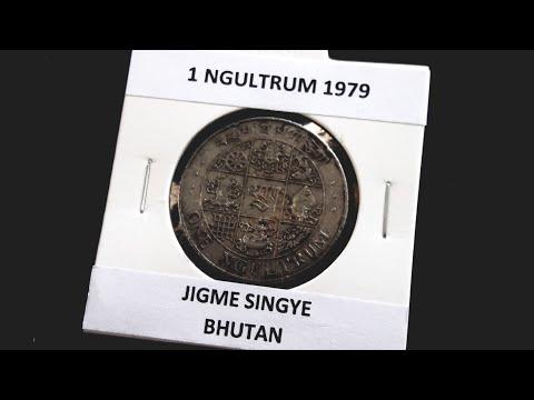 One Ngultrum Coin of 1979, Bhutan