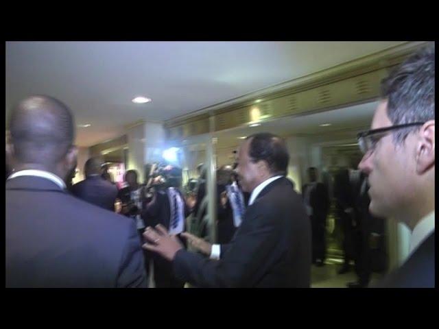 Cameroun, Accueil chalereux au président Paul Biya et son épouse à New York