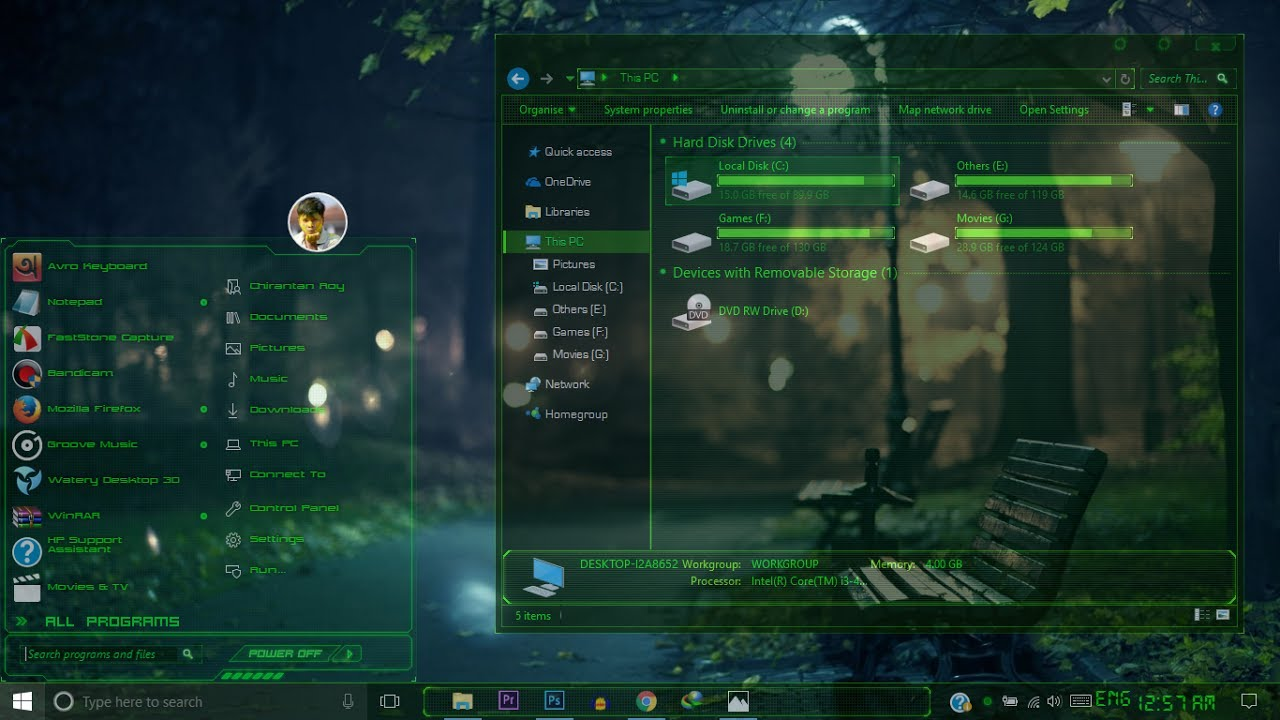 Best Windows 10 Transparent Theme For All Version Of Win