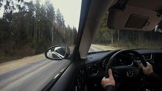 Тест-драйв Mercedes-Benz CLS 63 AMG (С219)
