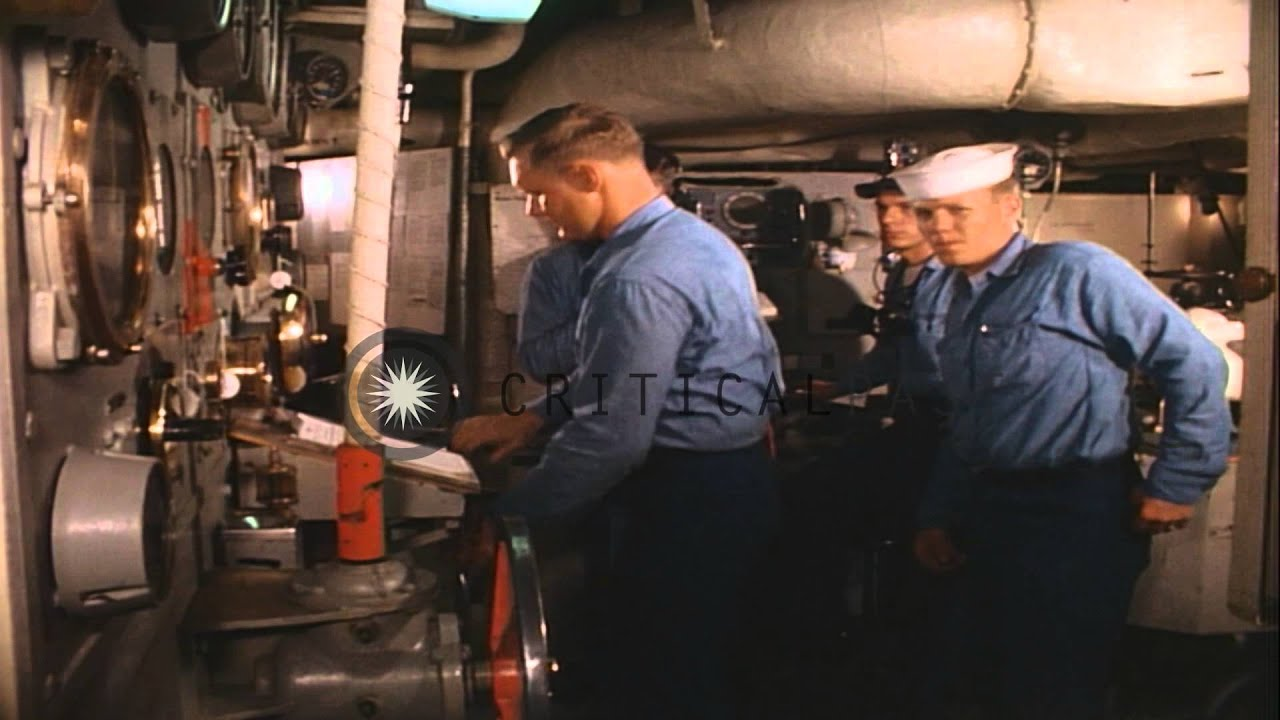 Engine Room Of United States Navy Destroyer Escort Charles E Brannon In Seattle Hd Stock Footage