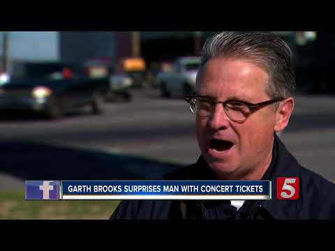 Garth Brooks Surprises Goodlettsville Man With Concert Tickets