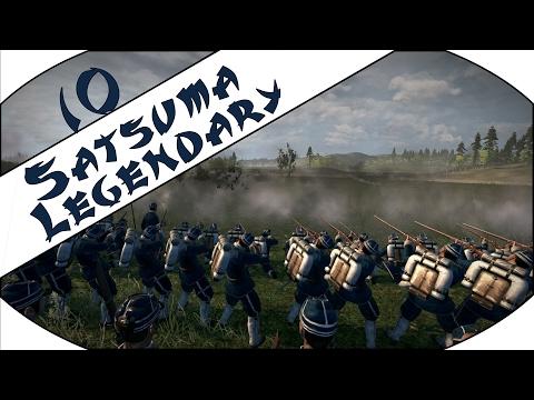 SILLY AI MOVES - Satsuma (Legendary) - Total War: Shogun 2 - Fall of the Samurai - Ep.10!