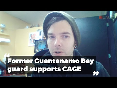 Former Guantanamo Bay Guard Speaks of CAGE and Courage