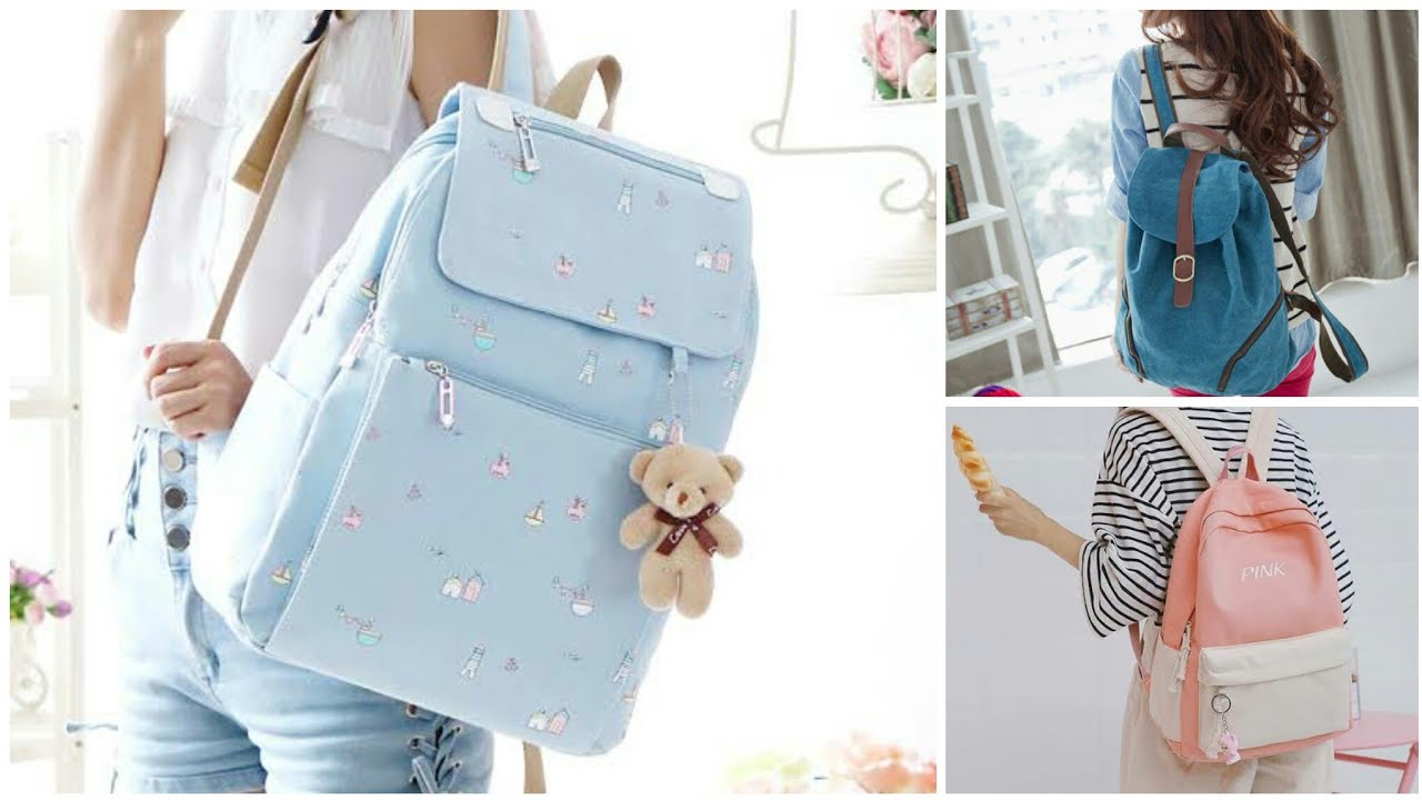 Stylish & Trendy Collage Bags Designs For Girls | Collage/School Bags Designs.